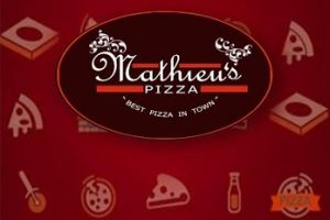 App-date: Our App for Mathieu's Pizza is Now On GooglePlay