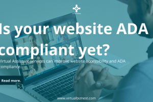 Virtual Assistant Services Can Improve Website Accessibility and ADA Compliance