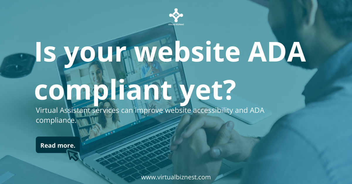 You are currently viewing Virtual Assistant Services Can Improve Website Accessibility and ADA Compliance